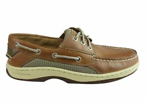 NEW-SPERRY-MENS-BILLFISH-COMFORTABLE-WIDE-FIT-LEATHER-BOAT-SHOES