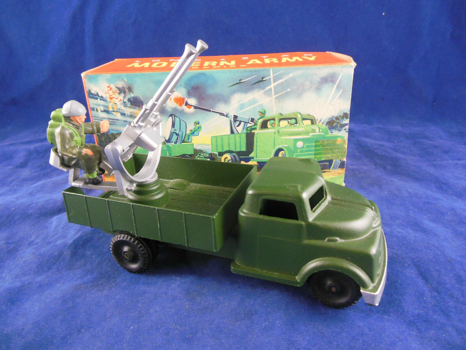 Scarce Lone Star Twin Pom Pom Lorry Modern Army Series