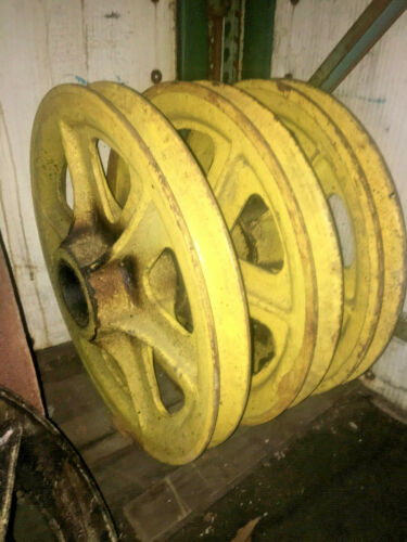 """24/"""" diameter Cast steel  Wire Rope Sheaves//Steel cable pulleys"""