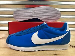207450d9f70 Image is loading Nike-Classic-Cortez-Nylon-Retro-Shoes-Photo-Blue-