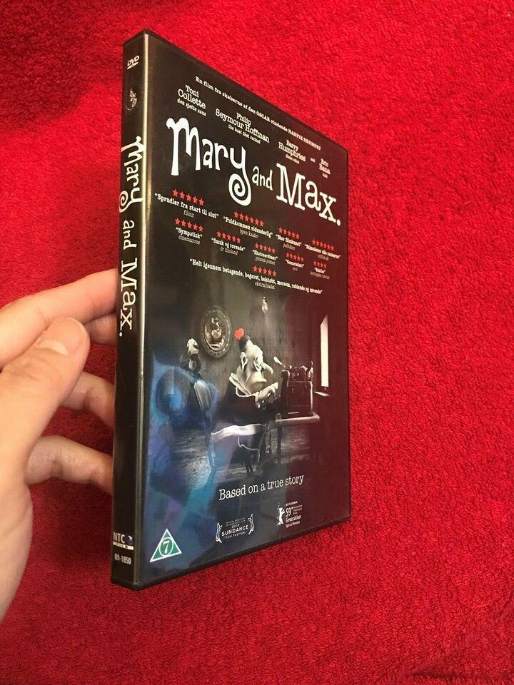 Mary And Max Dvd Animation Ndash Dba Dk Ndash Kob Og Salg Af Nyt Og Brugt