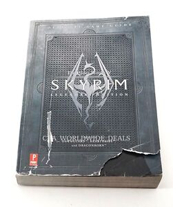 The Elder Scrolls V Skyrim Legendary Edition Prima Strategy Guide Read Ebay