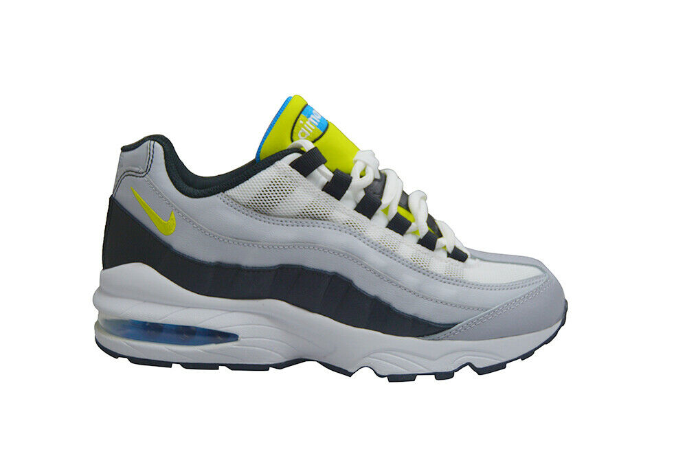 Adolescenti Nike Air Max 95 (Gs) - 905348017 - Bianco grey Cibernetici black