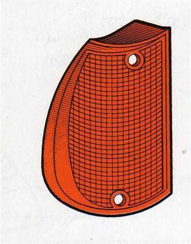 Plastica fanalino anteriore sx arancio per Alfa Romeo Giulietta 1978/>