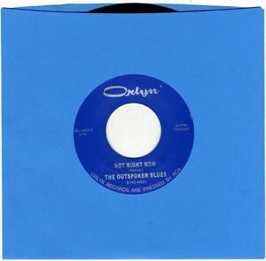 THE-OUTSPOKEN-BLUES-Not-Right-Now-vinyl-7-034-Orlyn-Yardbirds-garage-punk-psych