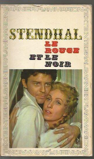 LE ROUGE ET LE NOIR-STANDHAL-GARNIER-FLAMMARION-1964