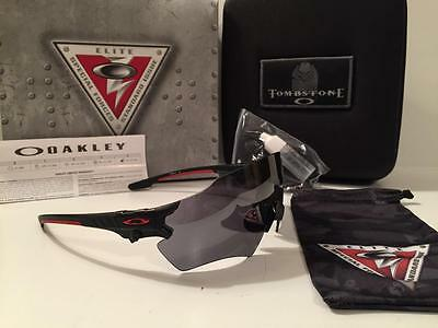 04a424ecf670 New Oakley SI Military TOMBSTONE REAP Sunglasses/Shooting Glasses Black  Iridium