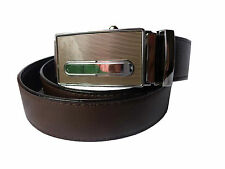 High Quality PU Leather Formal Auto Lock Buckle with Reversible Belt