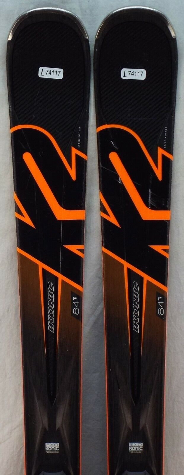 17-18 K2 Ikonic 84Ti Used Men's Demo Skis w Bindings  Size 170cm  high-quality merchandise and convenient, honest service