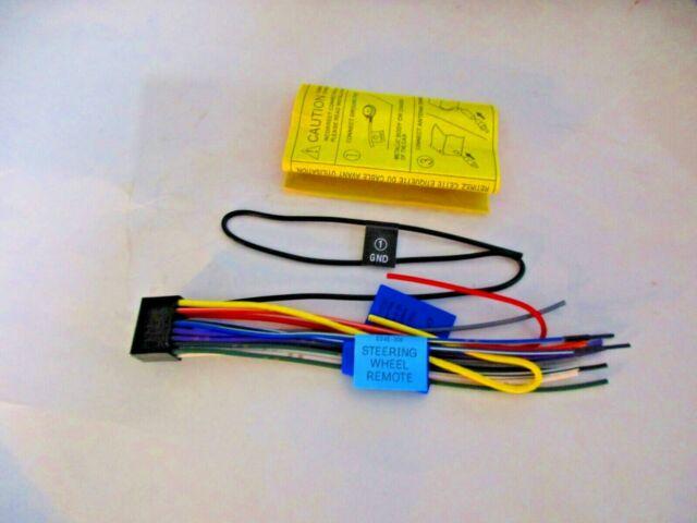 Original Jvc Kd Ar755 Wire Harness New Oem Jb3 For Sale Online