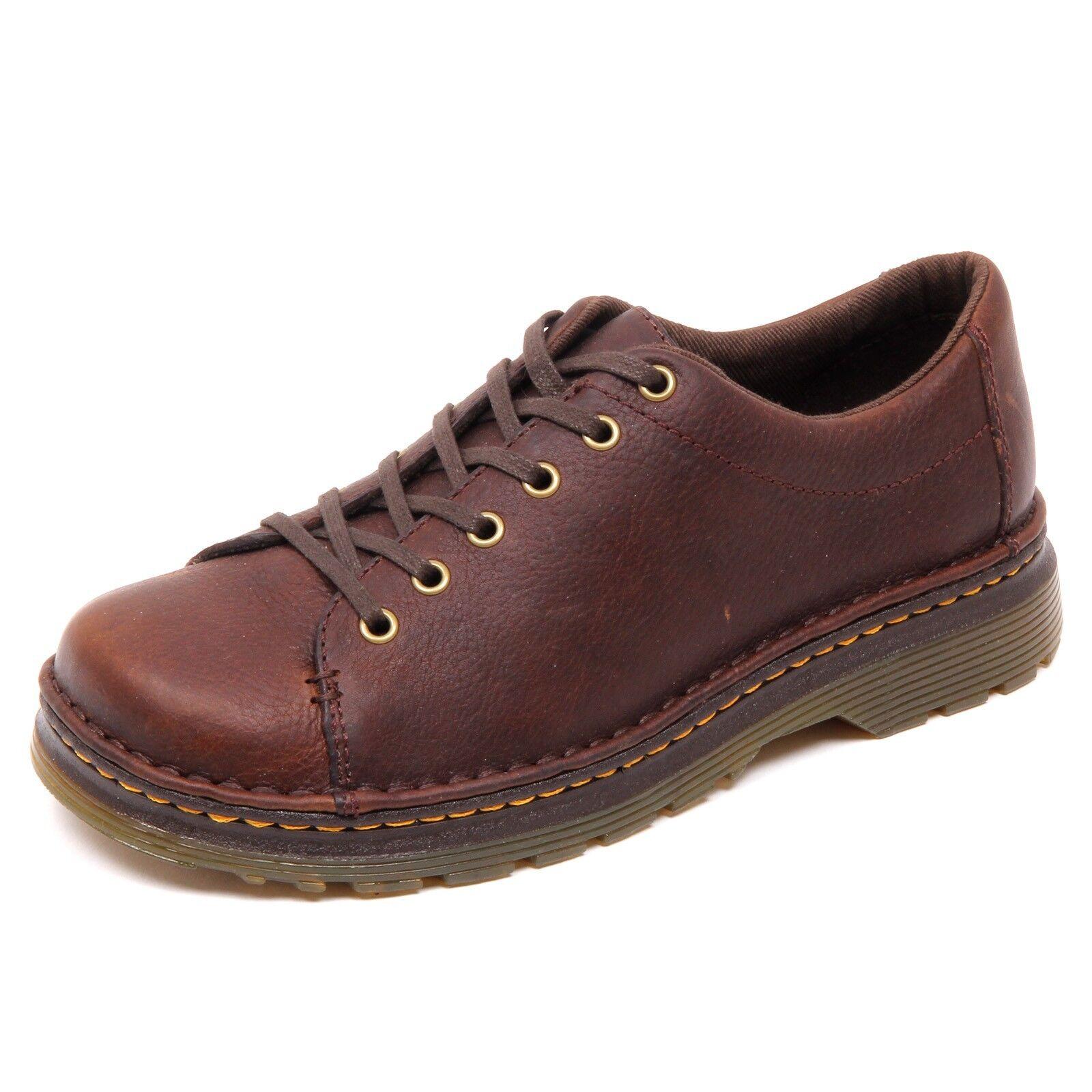 D3644 (without box) scarpa uomo DR. MARTENS marrone vintage shoe man