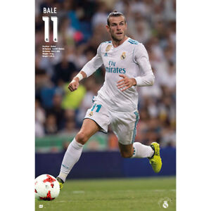 Image is loading 2017-18-GARETH-BALE-REAL-MADRID-PLAYER-POSTER- bc58a42d7d