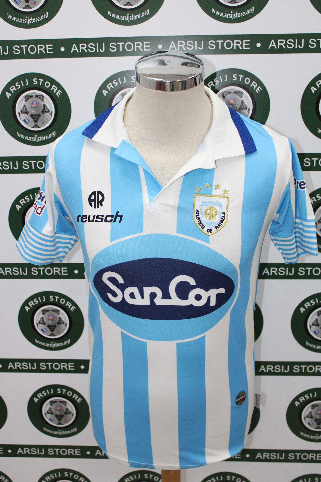 Maglia calcio shirt maillot trikot camiseta ATLETICO DE RAFAELA  MATCH WORN
