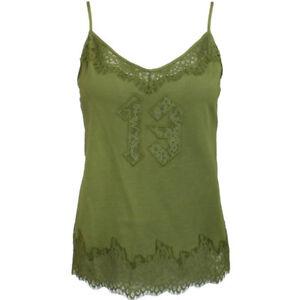9d876cf0364d Puma x Rihanna Fenty Womens Lace Trim Sleepwear Cami Top Olive ...