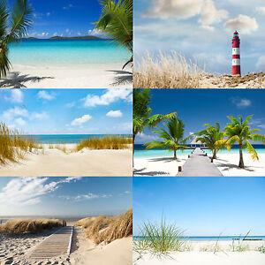 Vliestapete Fototapete Tapete Vlies viele Strand Motive ...