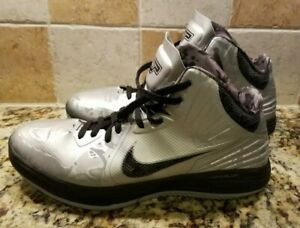 arriving new photos famous brand Details about Nike Hyperfuse Basketball Shoes High Tops Black And Silver  Camo Size 15