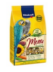 VITAKRAFT-MENU-LARGE-PARROT-AFRICAN-GREY-1KG-BIRD-CAGE-SEED-FOOD-21047