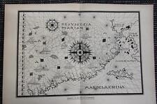 Plantensystem Planeten Vorstellung im 18. Jahrhundert DRUCK v. 1903 Sonnensystem