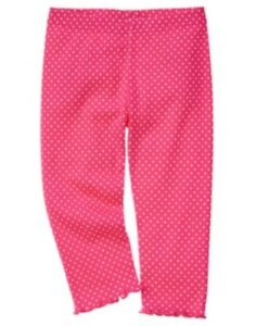 GYMBOREE-TEA-TIME-AFTERNOON-PINK-w-DOTS-LEGGINGS-3-6-12-18-24-2T-4T-5T-NWT