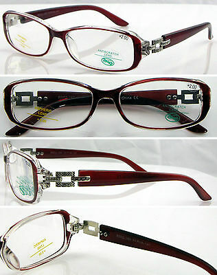 L289 Optical Reading Glasses High Quality Memory Plastic TR90+50+100+125+150+175