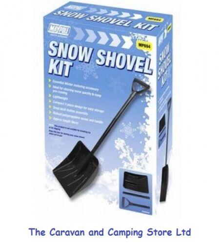 SNOW SHOVEL - COMPACT 3 PIECE DESIGN  - 94cm Assembled