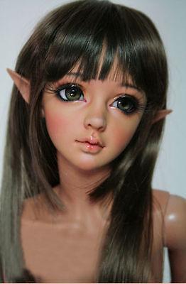 BJD/SD Girl Doll 1/3 lina Free eyes +Face make up-Tan color