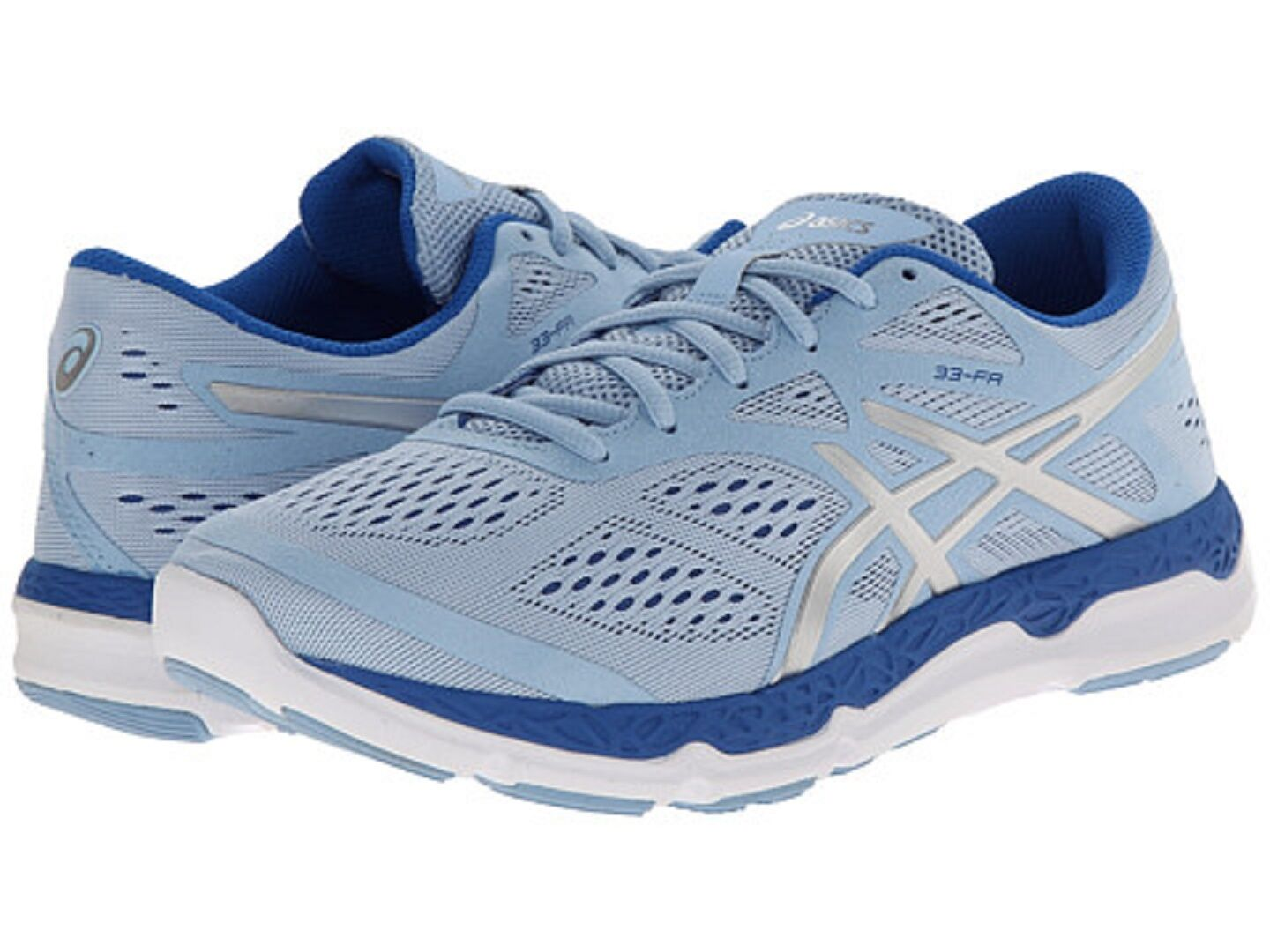 ASICS T583N.4491 33-FA Wmn's (M) Powder-bluee Mesh Synthetic Running shoes