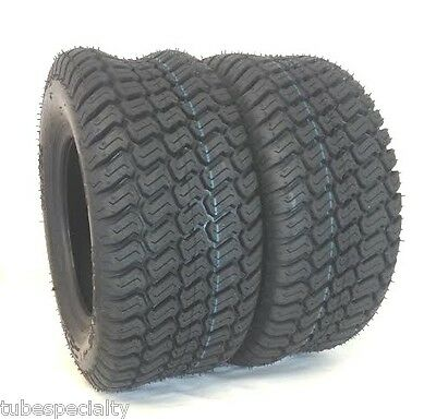 TWO 15X6.00-6 Wanda Turf Lawn 15X6-6 4 Ply Rated Lawn Mower Set of Two Tires