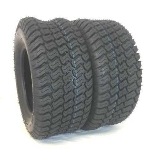 TWO 20X10.00-10 Turf Trac  Lawn 20X10-10 4 Ply Rated Lawn Mower Set of TwoTires