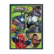 Glow Dark Reusable Stickers Colour Scenes Sticker Album Spiderman V Sinister 6