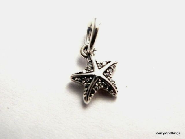 764108b7a Authentic PANDORA Tropical Starfish Pendant Clear CZ 390403CZ for ...