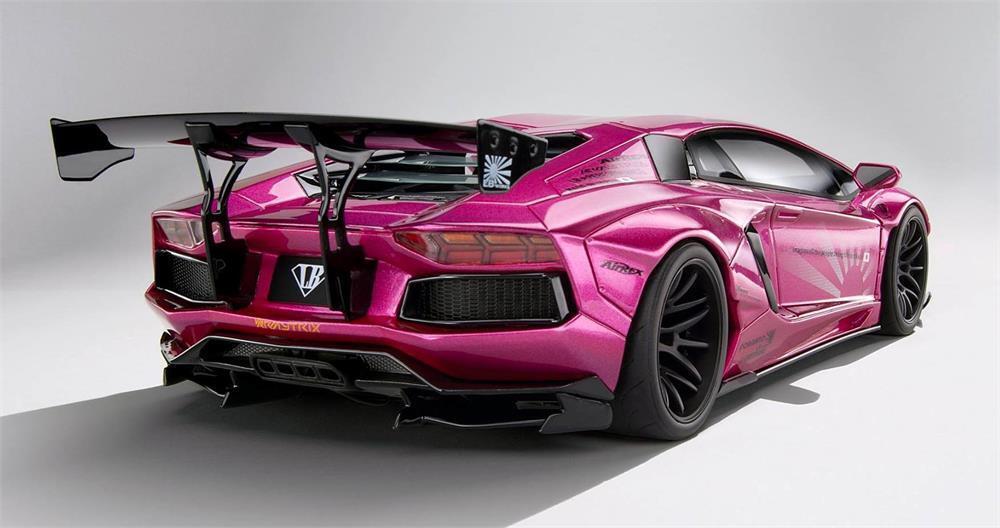 Liberté Promener Lamborghini Aventador en 1 18 Echelle par Kyosho