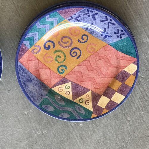 "SANGO POTPOURRI CANDY MOUNTAIN 7-3//4/"" SALAD DESSERT PLATE SUE ZIPKIN MIX MATCH"