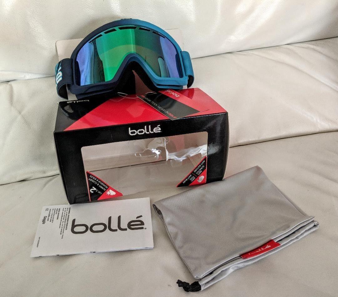 NIB Bollé NOVA IISun Predection Women's Outdoor Ski  Snowboard Goggle  free delivery