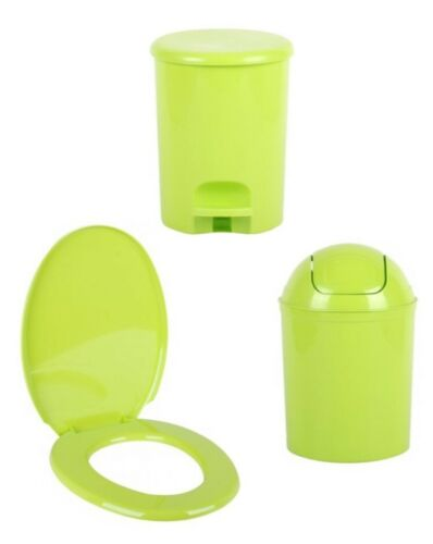 Coloré Universel Siège de toilette Easy Clean forme ovale en plastique résistante salle de bains WC