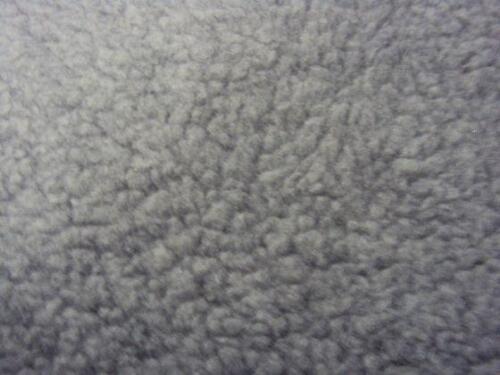 gris de piel de oveja cubiertas de asiento de coche de piel sintética Smart Fortwo 2014 - 2 X frentes