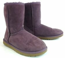 UGG Womens Original Classic Short Boot - Purple US Size 8