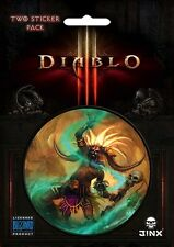 Diablo 3 III - Witch Doctor Class Sticker * NEW Jinx licensed Blizzard item