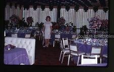 1960s  Kodachrome Photo slide Teenage Girl sweet 16 party Beverly Hills CA hotel