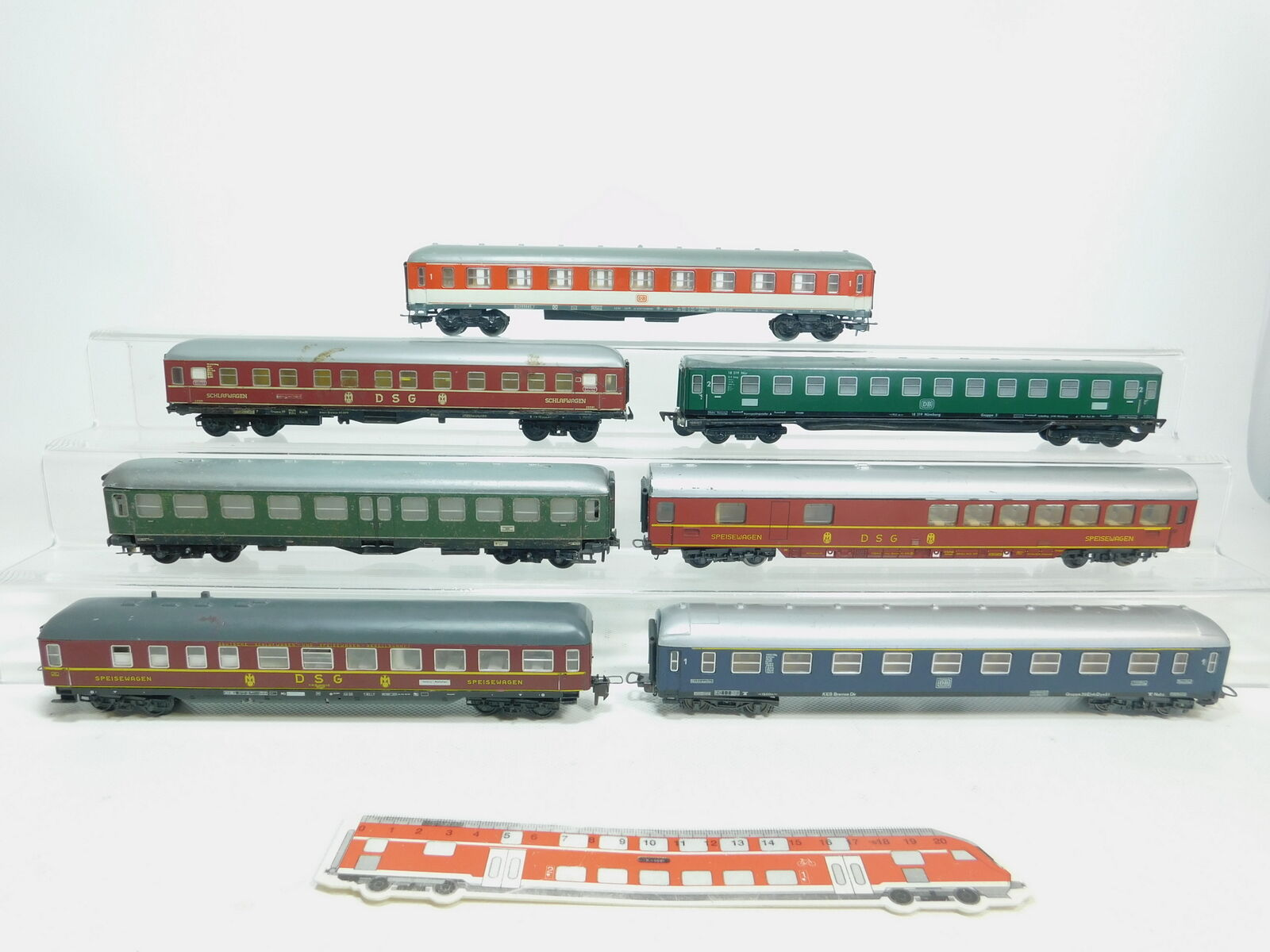 Bk263-2x h0 Passenger Car etc (Lima, Trix etc), hobbyists 2. Choice