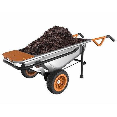 WG050 WORX AeroCart: 8-in-1 Multi-Function WheelBarrow Garden Yard Cart