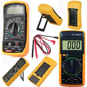 digital multimeter v a ohmmeter kapazit t messger t incl 9v batterie transistor. Black Bedroom Furniture Sets. Home Design Ideas