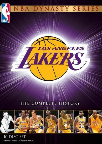 1 of 1 - NBA - Dynasty Series : The Complete History Of The Lakers (DVD, 2011, 10-Disc Se