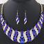 Fashion-Elegant-Women-Rhinestone-Crystal-Choker-Bib-Statement-Pendant-Necklace thumbnail 14