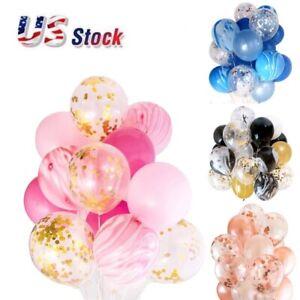 """12"""" Confettis Latex Ballons Mariage Fête D'Anniversaire Décoration 20 par sac"""