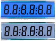 ED139 6 Digit 8 Segment LCD Screen Module Static Driving TN Positive Display 5V