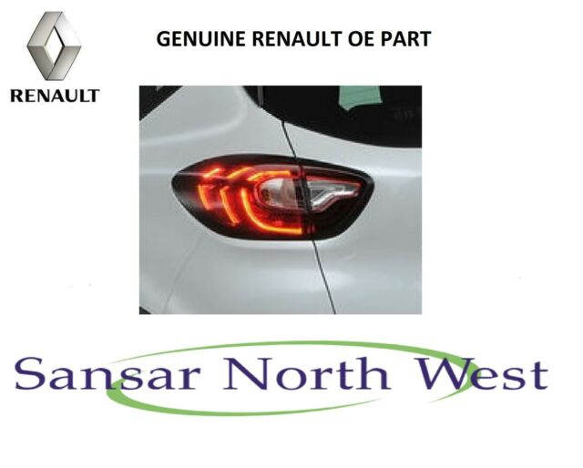 Renault Captur - Passenger Side Rear Outer Lamp Tail Light N/S LEFT