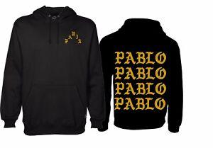 design innovativo f2905 c7749 Dettagli su 4 The Life Of Pablo Felpa Unisex i Feel Like Pablo Paris Rétro  Cappuccio