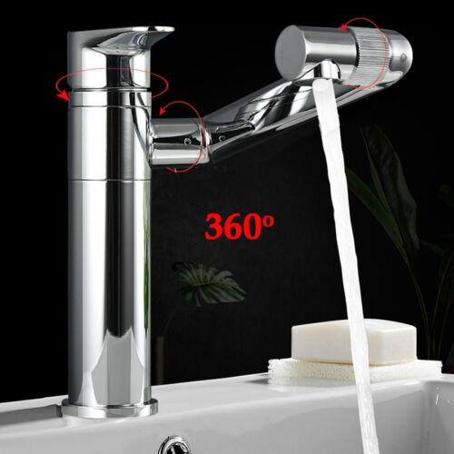 Badarmatur Hoch Einhandmischer Wasserhahn Mischbatterie Küche Armatur 360°Drehba