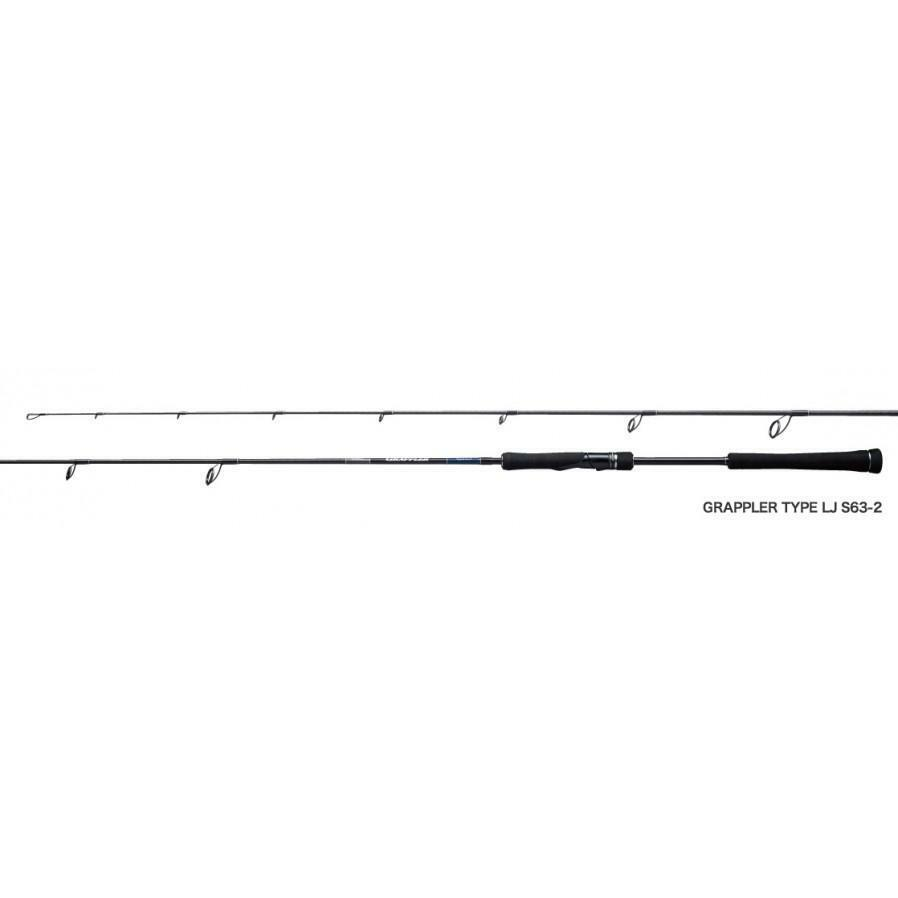 Shimano 19 GRAPPLER S63-2 Spinning  Rod  free shipping on all orders